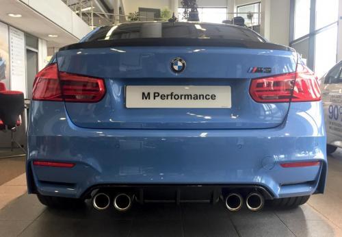 Yas M3 rear