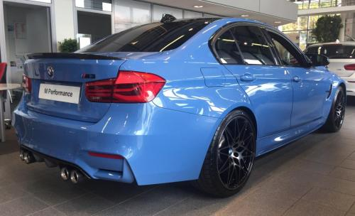 Yas M3 side rear